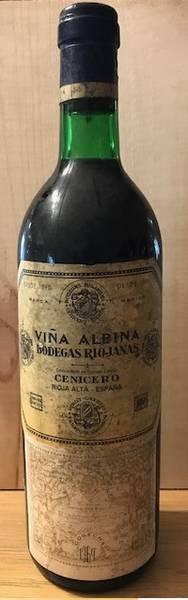 1969 Rioja Vina Albina  Cenicero - Riojanas, Bodegas***
