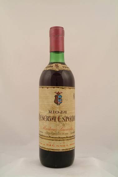 1959 Rioja Reserva Especial - Martinez Lacuesta
