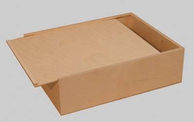 holzkiste sonder gro mit schiebedeckel und einsatz 50. Black Bedroom Furniture Sets. Home Design Ideas